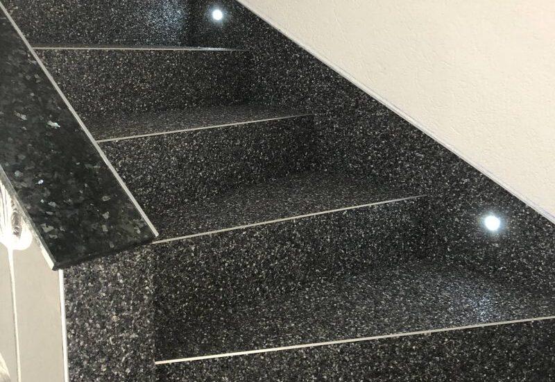 Bodenbeschichtungen für Treppen